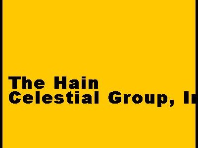 The Hain Celestial Group Inc.